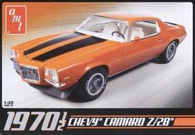 AMT Chevy Camaro Z28 1970 1/2 Plastic Model Car Kit 1/25 Scale #635l/12