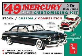 AMT 1949 Merc Club Coupe Plastic Model Car Kit 1/25 Scale #654