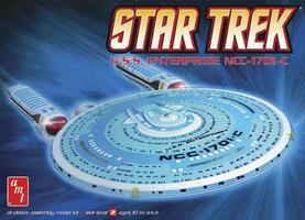 AMT Star Trek Enterprise 1701-C Plastic Model Spaceship Kit 1/2500 Scale #661