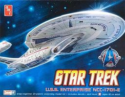 AMT Star Trek Enterprise 1701-E Plastic Model Spaceship Kit 1/2500 Scale #663l