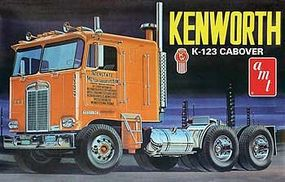 Kenworth K123 Cabover Plastic Model Truck Kit 1/25 Scale #687