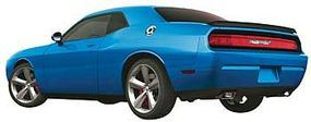 AMT 2010 Dodge Challenger RT Built Up Blue Plastic Model Car Kit 1/25 Scale #694