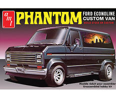 AMT 1976 Ford Custom Van Phantom Plastic Model Car Kit 1/25 Scale #767-12