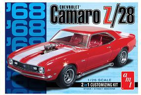 AMT 1968 Camaro Z/28 Plastic Model Car Kit 1/25 Scale #868_12