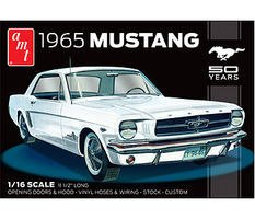AMT 1965 Ford Mustang Plastic Model Car Kit 1/16 Scale #872_06