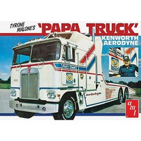 AMT Tyrone Malone Kenworth Transporter Papa Plastic Model Truck Kit 1/25 Scale #932-06