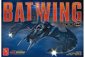 AMT 1989 Batman Batwing Plastic Model Vehicle Kit 1/25 Scale #948-12