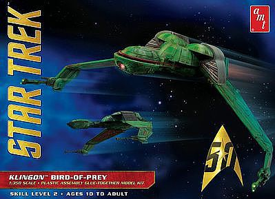 AMT/ERTL Star Trek Klingon Bird of Prey -- Plastic Model Spaceship Kit -- 1/350 Scale -- #949-12
