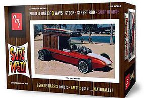 AMT George Barris Surf Woody Plastic Model Car Kit 1/25 Scale #976-12