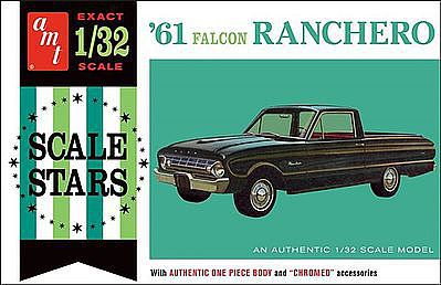 AMT 1961 Ford Ranchero Plastic Model Truck Kit 1/32 Scale #984-12