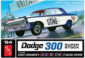 AMT Color Me Gone 1964 Dodge 300 Superstock Plastic Model Car Kit 1/25 Scale #987-12