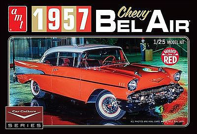 AMT/ERTL Cindy Lewis 1957 Chevy Bel Air w/Diorama -- Plastic Model Car Kit -- 1/25 Scale -- #988-12