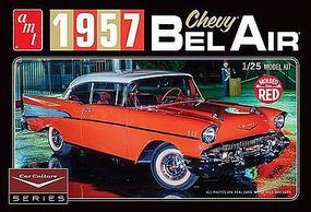 AMT Cindy Lewis 1957 Chevy Bel Air w/Diorama Plastic Model Car Kit 1/25 Scale #988-12