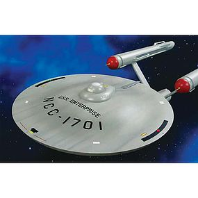 AMT Star Trek TOS USS Enterprise Smooth Science Fiction Plastic Model 1/350 Scale #mka015-06