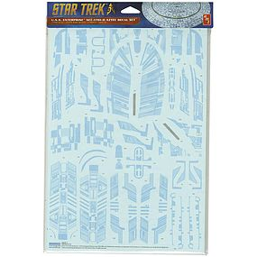 AMT Star Trek USS Enterprise 1701-D Aztec Science Fiction Plastic Model Kit 1/1400 #mka019-12