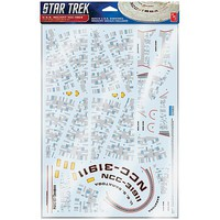 AMT Star Trek U.S.S. Reliant Aztec Decals Plastic Model Aircraft Decal 1/537 Scale #mka021-06