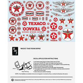 AMT 1/25 Texaco/Standard/Chevron Trucking Decals
