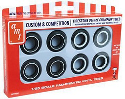AMT 1/25 Firestone Deluxe Champion Tire Pack