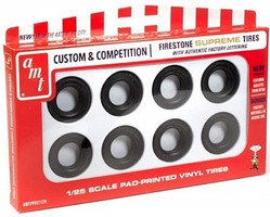 AMT 1/25 Firestone Supreme Tire Parts Pack