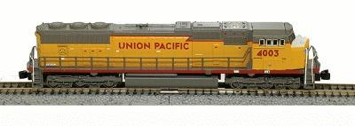 American Z Line EMD SD70M - Standard DC - Union Pacific -- Z Scale Model Train Diesel Locomotive -- #6102
