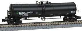 Z-Line 23,000 Gallon Funnel-Flow Tank Car (4) Cargill CRGX Z Scale Model Train Freight Car #905042