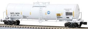 Z-Line 23,000-Gallon Funnel-Flow Tank Car GATX #56701 Z Scale Model Train Freight Car #915081