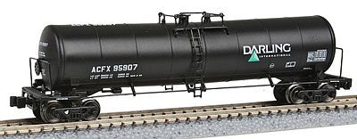 American Z Line 23,000-Gallon Funnel-Flow Tank Car - ACFX #95907 -- Z Scale Model Train Freight Car -- #915101