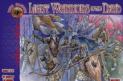 Alliance Figures Light Warriors of the Dead Mythical Figures (40) -- Plastic Model Fantasy Figure -- 1/72 -- #72011
