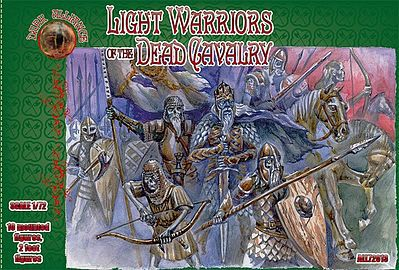 Alliance Light Warriors of the Dead Cavalry Mythical Figures Plastic Model Fantasy 1/72 #72013
