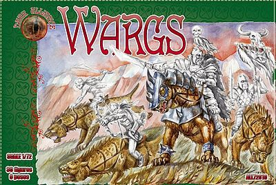 Alliance Figures Wargs Figures -- Plastic Model Fantasy Figure -- 1/72 Scale -- #72019