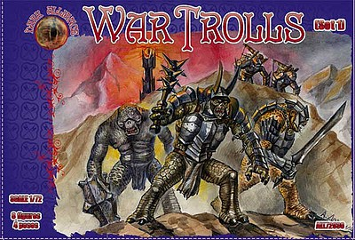 Alliance Figures 1/72 War Trolls Set #1 Figures
