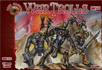 Alliance Figures 1/72 War Trolls Set #2 Figures (8)