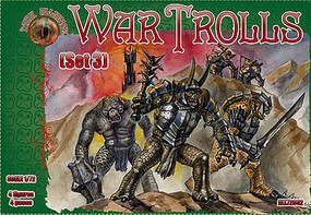 Alliance 1/72 War Trolls Set #3 Figures (4)