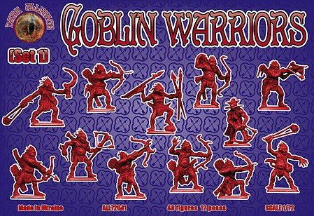 Alliance 1/72 Goblin Warriors Set #1