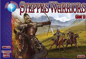 Alliance 1/72 Steppes Warriors Set #1 Figures (12 Mtd)
