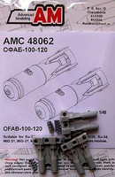 Advanced 1/48 OFAB100-120 High-Explosive Fragmentation Bomb (6) for Soviet Aircraft (D)