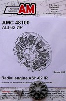 Advanced 1/48 An2 ASh62 IR Radial Piston Engine for HBO (D)
