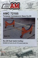 Advanced 1/72 Su24 Fuel Tank Trolley for TSM (D)