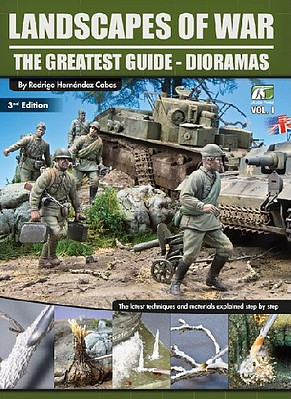 Accion Landscapes of War The Greatest Guide - Dioramas Vol.I 2nd Edition (Re-Issue)