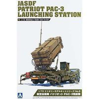 Aoshima Japan Air Self Defense PAC-3 Launching Stat Plastic Model Military Vehicle 1/72 #009956