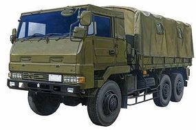 Aoshima JGSDF 3.5t Military Truck Plastic Model Military Cargo Truck Kit 1/72 Scale #02322
