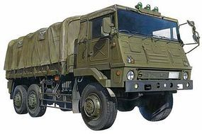 Aoshima JGSDF Type 73 Military Truck Plastic Model Cargo Truck Kit 1/72 Scale #02346