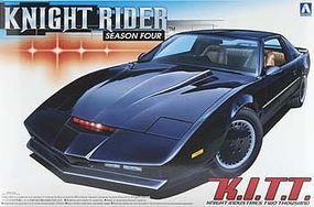 Aoshima Knight Rider 2000 KITT Season IV Plastic Model Car Kit 1/24 Scale #041307