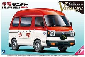 Aoshima Subaru Sambar Mini PickUp Plastic Model Truck Kit 1/24 Scale #04685