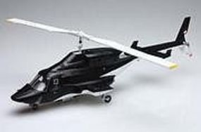 Aoshima Airwolf Helicopter with Clear Body Version Plastic Model Helicopter Kit 1/48 Scale #05590