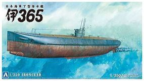 Aoshima IJN Submarine I-365 Plastic Model Military Ship Kit 1/350 scale #05682