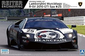 Aoshima Lamorghini Murcielago R-SV-24 Plastic Model Car Kit 1/24 Scale #07174