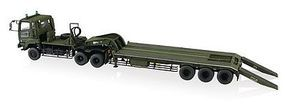 Aoshima JGSDF Heavy Tank Transporter Plastic Model Military Vehicle Kit 1/72 Scale #09970