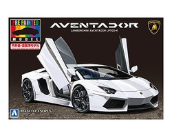 Aoshima Lamborghini Aventador LP700-4 Sports Car Plastic Model Car Kit 1/24 Scale #11393