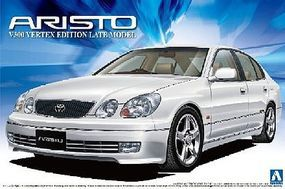 Aoshima Lexus GS300 4-Door Late Model Sedan Plastic Model Car Kit 1/24 Scale #12192